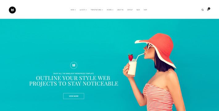 Minlight Wordpress Theme