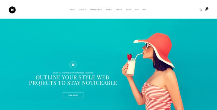 Minlight Wordpress Theme