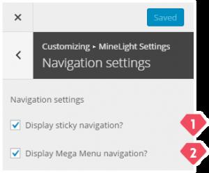 8-customizer-minelight-navigation-settings