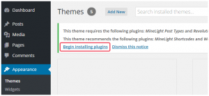 installing-the-required-plugins-themes